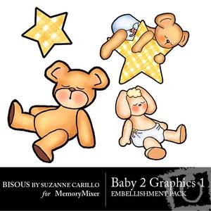 Baby 2 graphics 1 medium