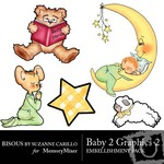 Baby 2 Graphics 2-$1.50 (Bisous By Suzanne Carillo)