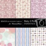 Baby 2 Pink Paper Pack-$3.00 (Bisous By Suzanne Carillo)