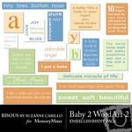 Baby 2 WordArt 2-$1.50 (Bisous By Suzanne Carillo)