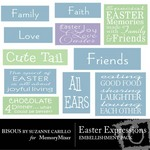 Easter Expressions-$1.49 (Bisous By Suzanne Carillo)