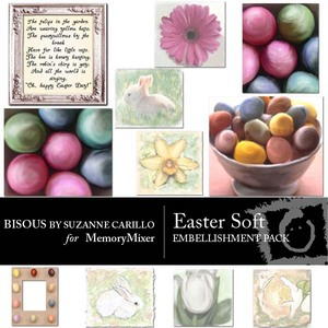 Easter soft emb medium
