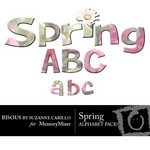 Spring Alphabet Pack-$1.00 (Bisous By Suzanne Carillo)