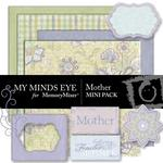Mother Mini Pack-$2.00 (My Minds Eye)