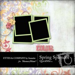 Spring Splendor QuickMix-$4.99 (Ettes and Company by Annette)