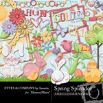 Spring Splendor Embellishment Pack-$3.49 (Ettes and Company by Annette)
