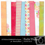 Feelin Happy Paper Pack-$4.00 (Fayette Designs)