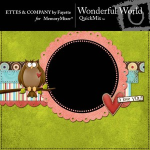 Wonderful world qm medium