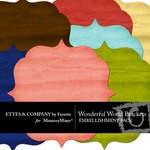 Wonderful World Bracket Pack FE-$2.50 (Ettes and Company by Fayette)