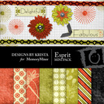 Esprit Mini Pack-$4.00 (Designs by Krista)