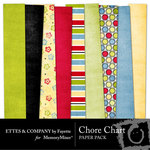 Chore Chart Paper Pack-$4.00 (Ettes and Company by Fayette)