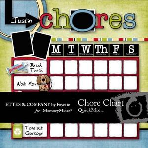 Chore chart medium