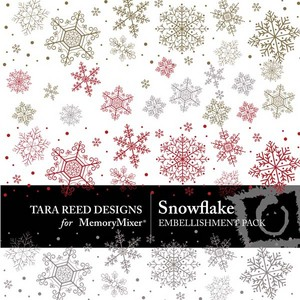 Snowflake emb medium