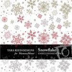 Snowflake Embellishment Pack-$3.00 (Tara Reed Designs)