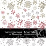Snowflake Embellishment Pack-$3.00 (Tara Reed Designs)