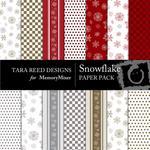 Snowflake Paper Pack-$4.00 (Tara Reed Designs)