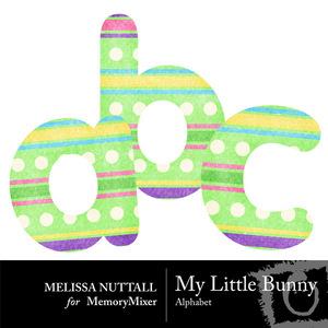 My little bunny alphabet preview medium
