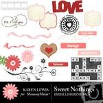 Sweet Nothings Embellishment Pack-$3.00 (Karen Lewis)