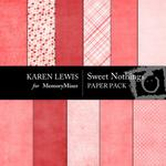 Sweet Nothings Paper Pack-$4.00 (Karen Lewis)