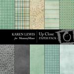 Up Close Paper Pack-$4.00 (Karen Lewis)