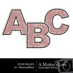 A Mothers Love Alphabet Pack-$1.00 (Julie Klaus)