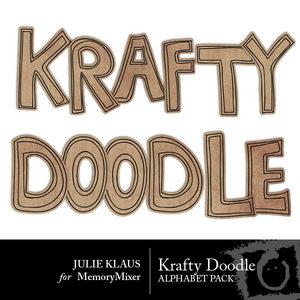 Krafty doodle alpha medium