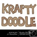Krafty Doodle Alphabet Pack-$1.00 (Julie Klaus)