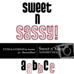 Sweet n Sassy Alphabet Pack-$1.00 (Ettes and Company by Annette)