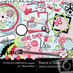 Sweet n Sassy Embellishment Pack-$3.50 (Ettes and Company by Annette)