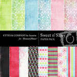 Sweet n Sassy Paper Pack-$4.00 (Ettes and Company by Annette)