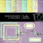 Leila Mini Pack-$4.00 (Designs by Krista)