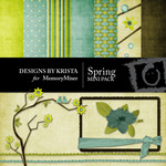 Spring Mini Pack-$4.00 (Designs by Krista)