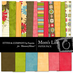 Mom's Life Paper Pack-$4.00 (Fayette Designs)