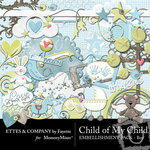 Child of My Child Boy Embellishment Pack-$3.50 (Ettes and Company by Fayette)