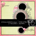 Child of My Child Girl QuickMix-$5.00 (Ettes and Company by Fayette)
