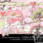 Child of My Child Girl Embellishment Pack-$3.50 (Ettes and Company by Fayette)