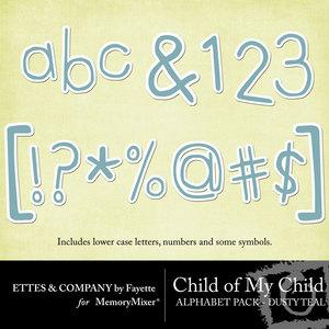 Comc monograms dustyteal medium