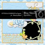 Blue Skies QuickMix-$6.50 (Ettes and Company by Fayette)