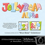 Jelly Bean Alphabet Pack-$1.00 (Fayette Designs)