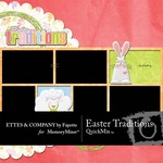 Easter Traditions QuickMix-$6.00 (Ettes and Company by Fayette)