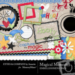 Magical Memories Embellishment Pack-$3.49 (Ettes and Company by Annette)