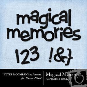 Magical memories alpha medium