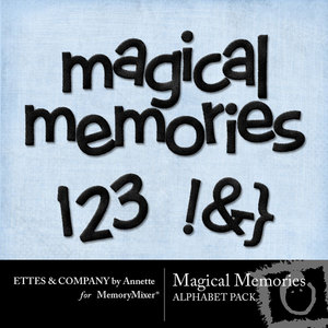 Magical memories alpha medium