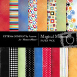 Magical Memories Paper Pack-$3.99 (Ettes and Company by Annette)