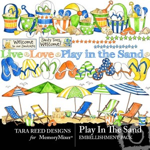 Play in the sand emb medium