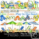 Play in The Sand Embellishment Pack-$3.50 (Tara Reed Designs)