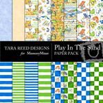 Play in The Sand Paper Pack-$3.99 (Tara Reed Designs)