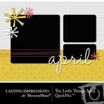 The Little Things April QuickMix-$3.00 (Lasting Impressions)