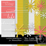 The Little Things April Mini Pack-$3.00 (Lasting Impressions)