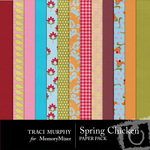Spring Chicken Paper Pack-$3.99 (Traci Murphy)